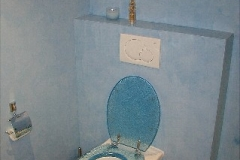 bad stucco blau