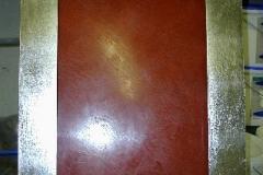 stuccobild silber